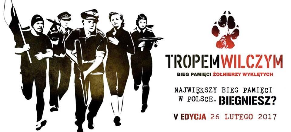 """Dzisiaj ruszają elektroniczne zapisy na bieg """"Tropem Wilczym"""" we Włocławku"""